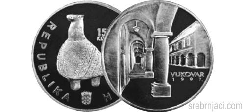 Srebrnjak 150 kuna Vukovar, 1997