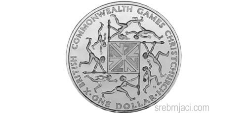 Komemorativni srebrnjaci 1 dollar, od 1974. do 1990.